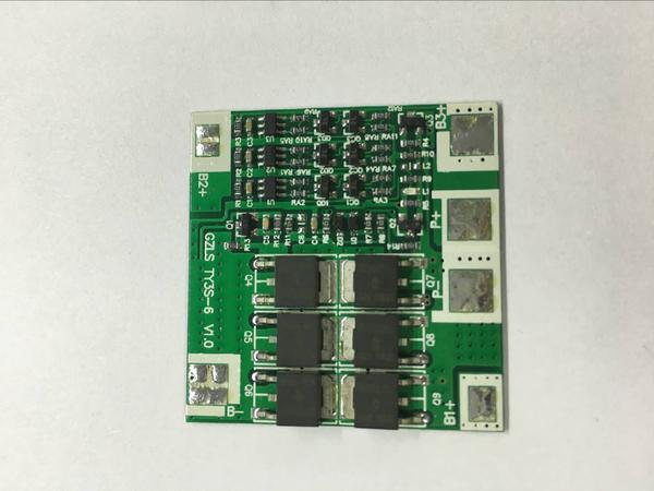 3串12V20A锂电池保护板